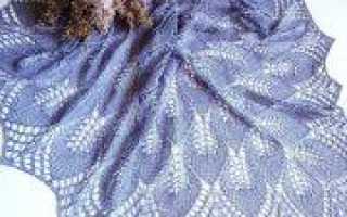 День пожилых людей: вяжем шали в подарок