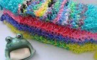 Вязание мочалок спицами (фото)