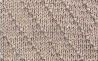 Виды вязки спицами: вариантов, фото, описание, схемы, видео мк