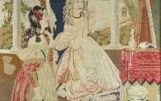 О старинной вышивке крестом со схемами