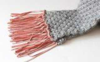 Как сделать бахрому на шарфе своими руками (фото и видео)