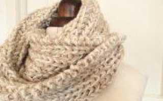 День народного единства: вязание шарфика спицами (фото)