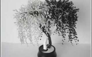 Инь Янь из бисеро дерево знаний своими руками в пошаговом мастер-классе