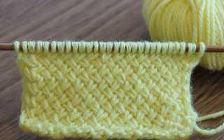 Схема узора плетенка спицами, 13 вариантов выполнения, фото,
