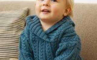 Джемпер спицами для мальчика подростка (схема с описанием)
