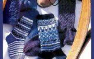 День защитника Отечества: вязание носков спицами в подарок