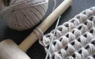 Перуанское вязание: украшаем изделия узором «брумстик»