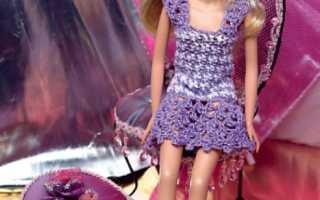 Одежда для барби: 30 моделей одежды и мебели со схемами и описанием