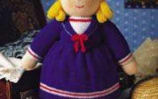 Разные способы вязания кукол спицами