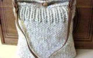 Вязаные сумки своими руками (фото и видео)