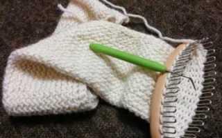 Вязание на луме для начинающих с фото и видео мастер-классом
