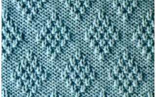 Теневое вязание спицами схемы, описание, видео мк