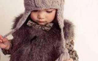 Детские шапки спицами: вязание разных фасонов (схемы)