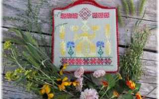 Вышивка Макошь крестом по схеме и создание картин