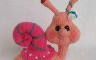 День рождения: вяжем игрушку спицами в подарок
