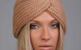Чалма своими руками из шарфа: способы завязывания на голове