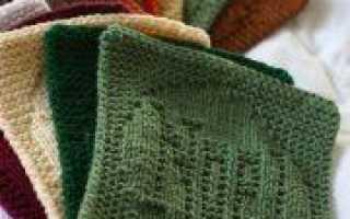 Теневые узоры спицами схемы и описание вязания