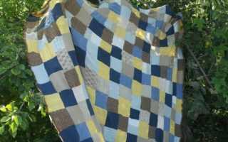 Плед из старых свитеров своими руками: 5 вариантов с фото