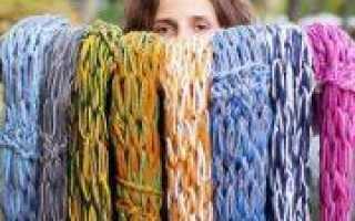 Как связать шарф руками без спиц с видео примерами