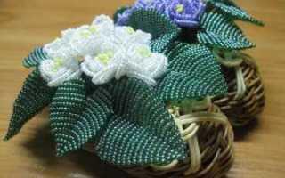 Параллельное плетение бисером по схеме в фото мастер-классе