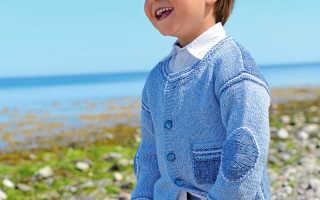 Детский жакет из принтованной пряжи спицами: схемы и узоры, описание вязания, видео мк, 2 модели