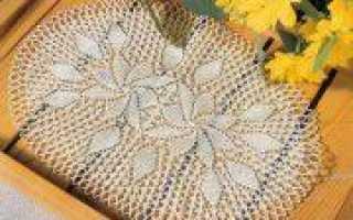 Комоедица (праздник): схемы с описанием вязания салфеток