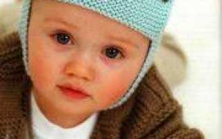 Шапка шлем для мальчика спицами: мастер-класс (фото и видео)