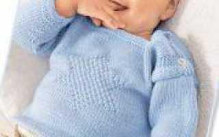 Вязание спицами ко дню Косманавтики праздничного пуловера с пошаговым описанием