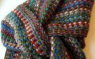 День милиции вязание модных шарфов и снудов в подарок мужчинам
