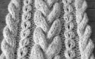 Косы спицами схемы вязания на основании мастер-классов