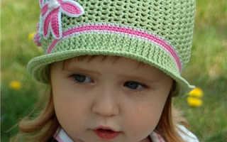 Детские шляпки крючком: схемы и описание, видео мк, 15 моделей