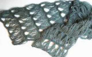 Вязание шарфа на вилке: для начинающих (фото)