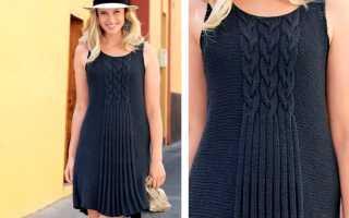 Летние платья с узором спицами: схемы и выкройки, описание вязания, видео мк, 2 модели