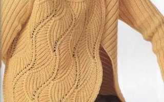 Фантазийный узор спицами: схема с описанием вязания и примеры готовых работ