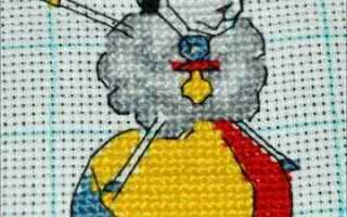 Овечка вышивка крестом схема и пошаговое фото